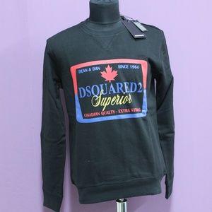 Dsquared2 Canadian Qualty Superior Black Sweatshir